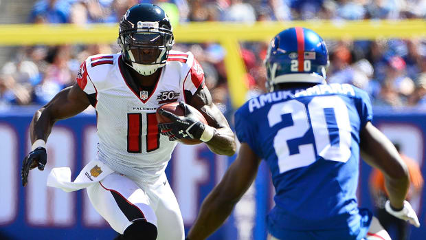 Jones and Falcons send struggling Giants to 0-2 IMAGE