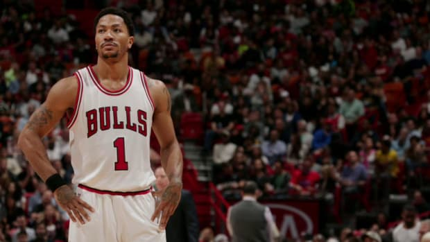 Derrick Rose says Bulls not 'on same page' IMAGE