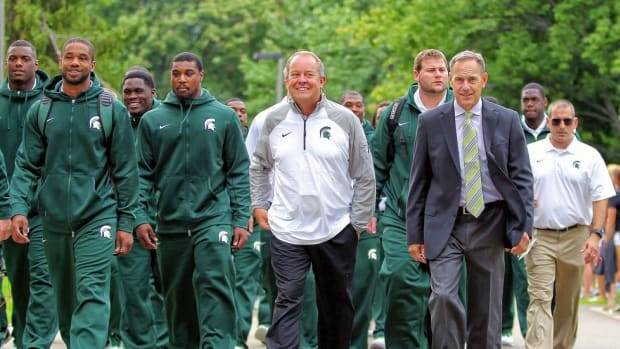 A creator and innovator, Michigan State's Mark Hollis has become the nation's most forward-thinking AD