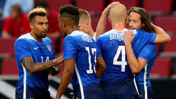 U.S. beats Germany 2-1 behind late goal from Wood IMAGE