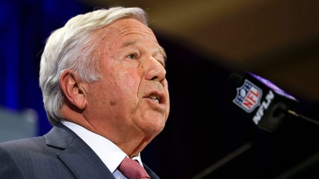 Kraft press conference a direct message to Goodell IMG