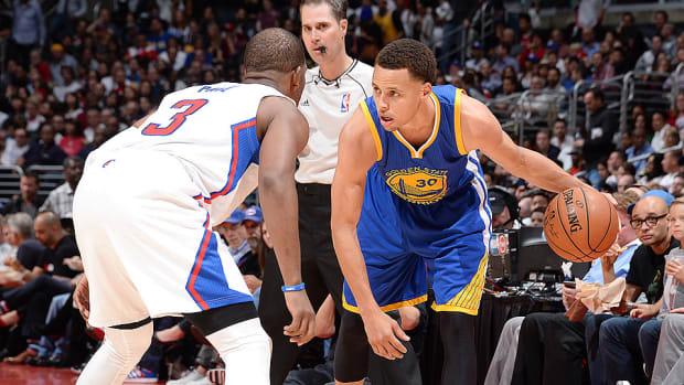 Steph Curry Warriors Chris Paul Clippers 960 LA