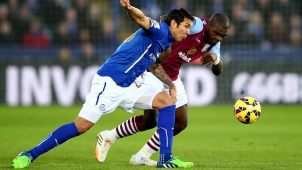 Leicester Aston Villa 0109