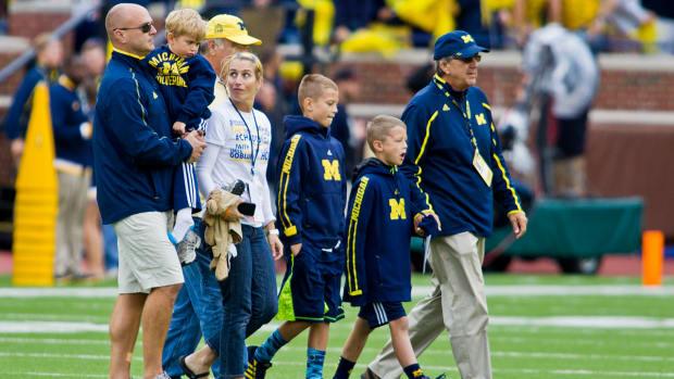 Grandson of former Michigan coach Lloyd Carr passes away- IMAGE