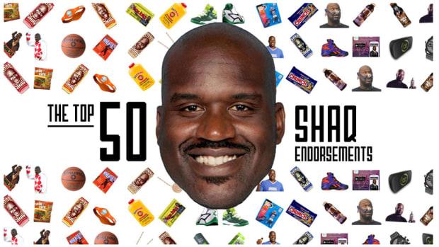 Shaq endorsements
