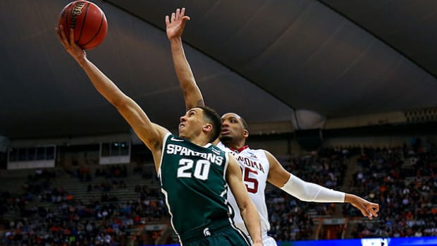 Travis Trice Michigan State Elite Eight preview