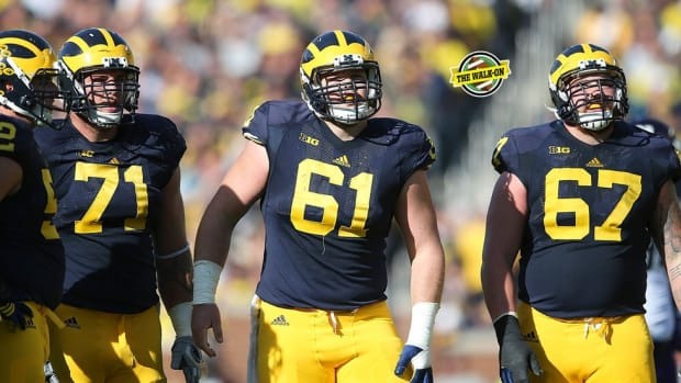 Big Blue brotherhood: The Glasgow brothers' paths from overlooked walk-ons to standout Wolverines