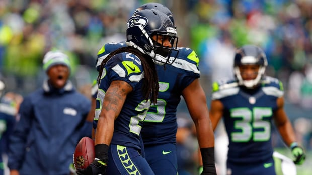 Richard Sherman says he'll '100 percent' play in Super Bowl IMAGE