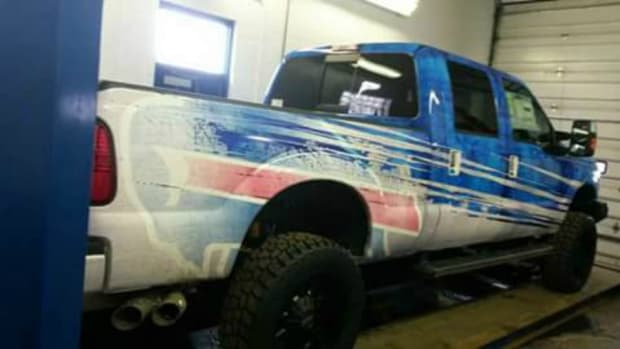 Check out Rex Ryan's new Bills truck