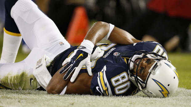 Report: Chargers WR Malcom Floyd has torn labrum--IMAGE