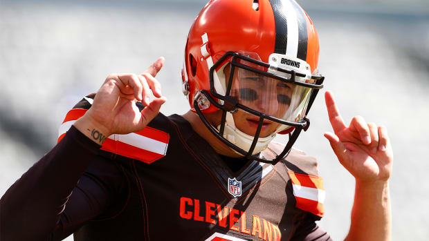 Johnny Manziel to start vs. Titans--image