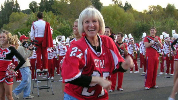 Dance, Crazy Lady, Dance! Meet Utah's shimmying, spirited superfan