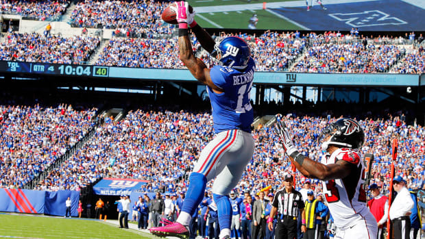 Rashad Jennings: Odell Beckham Jr. still a rookie for three more games - Image