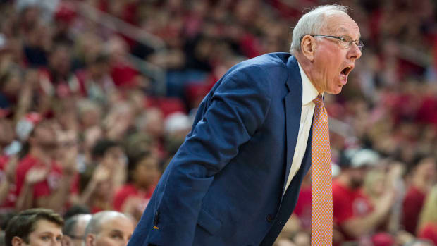 Jim Boeheim press conference ncaa allegations infractions