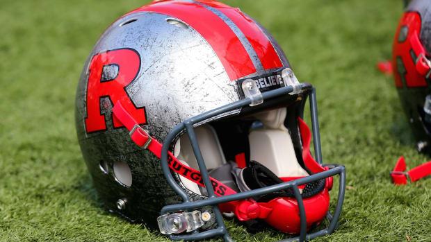 rutgers scarlet knights football helmet