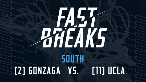 Fast Breaks: (2) Gonzaga vs. (11) UCLA preview IMAGE
