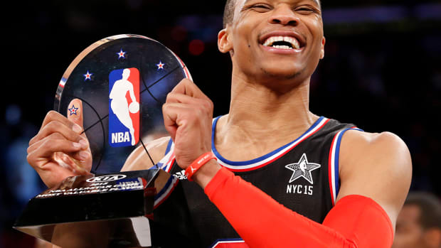 Russell Westbrook named All-Star Game MVP IMAGE