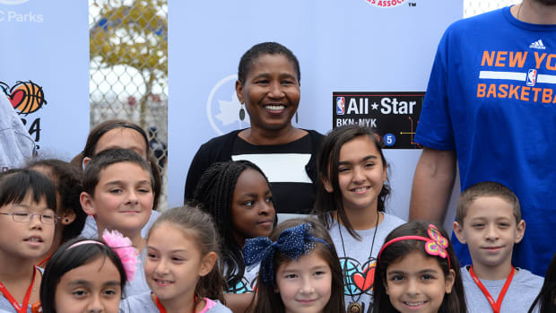 NBPA director Michele Roberts speaks on age limit