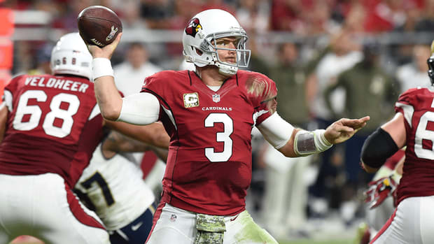 Cardinals QB Carson Palmer 'feeling great' after ACL surgery