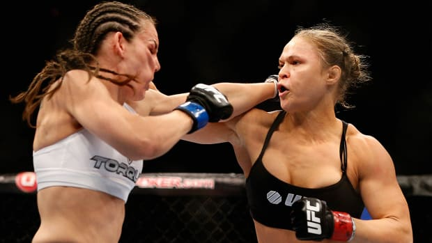 Ronda Rousey to 'Cyborg': I'm not going to make exceptions for a fraud and a cheater-image