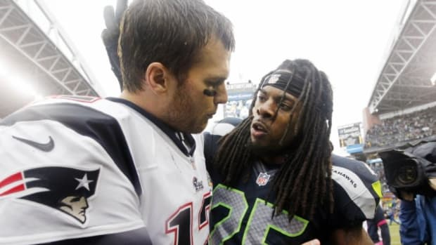 Richard Sherman Tom Brady trash talk