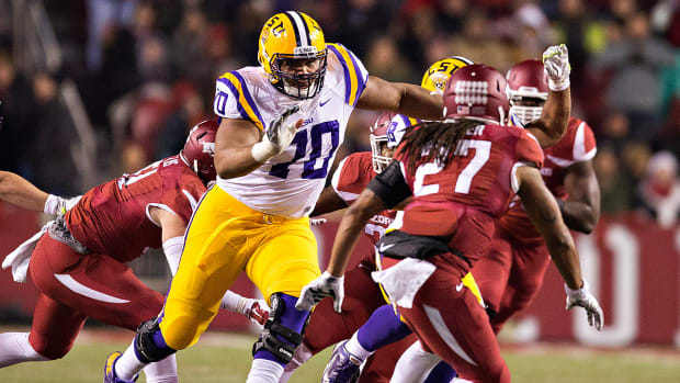 La'el Collins: It would be a big time deal to be drafted by the Saints - Image