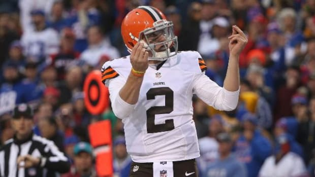 Cleveland Browns name Johnny Manziel starting QB for rest of season - IMAGE