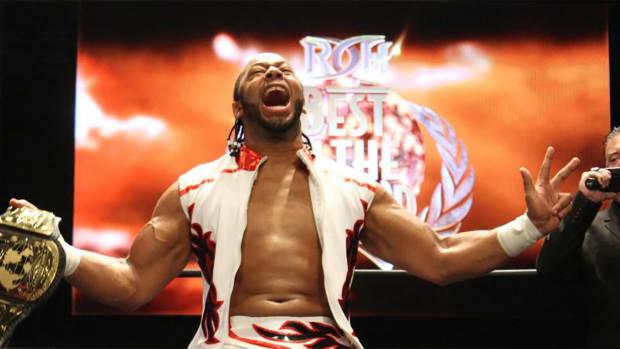 Ring of Honor champ Jay Lethal on Hulk Hogan, Ric Flair, Macho Man--IMAGE