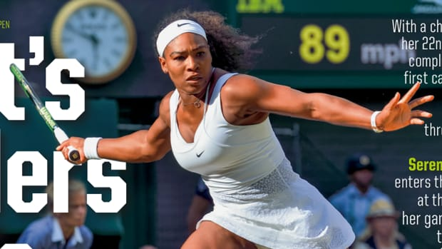 Serena Williams graces the cover of this week's Sports Illustrated--IMAGE