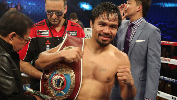Bob Arum: Manny Pacquiao retiring after April fight -- IMAGE