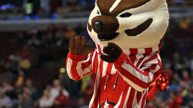 wisconsin badgers bucky mascot ncaa tournament emojis