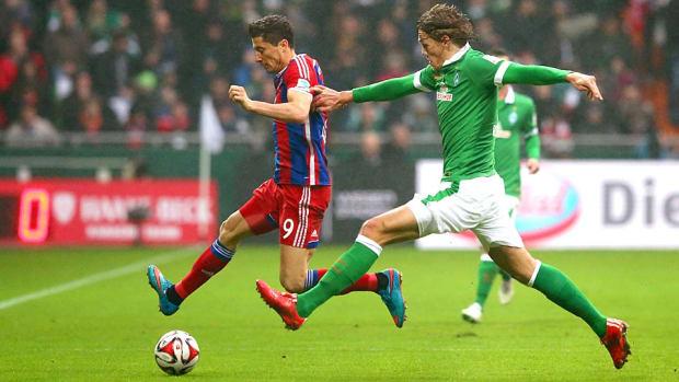 Bayern Munich vs. Werder Bremen
