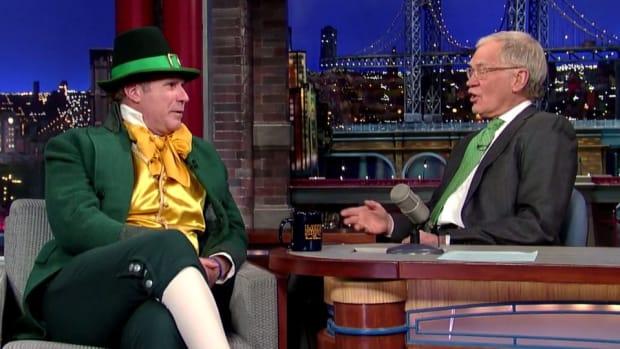 Will Ferrell talks spring training, Harry Caray on Letterman