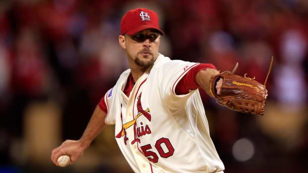 cardinals adam wainwright abdominal strain