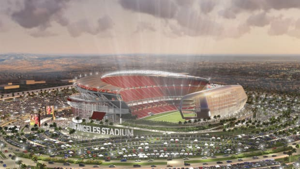 Chargers, Raiders propose joint Los Angeles-area stadium IMAGE