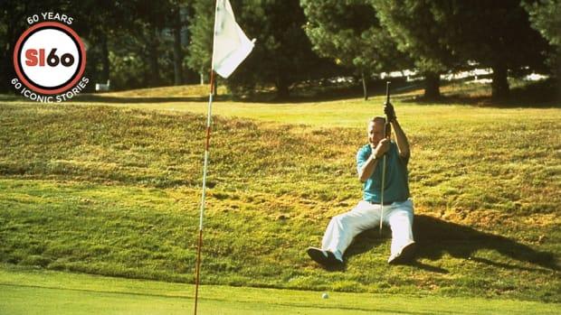 President George Bush golf SI 60 top