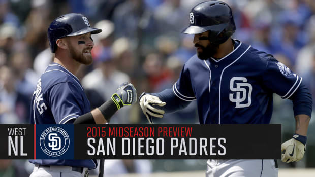 San Diego Padres 2015 midseason preview IMAGE