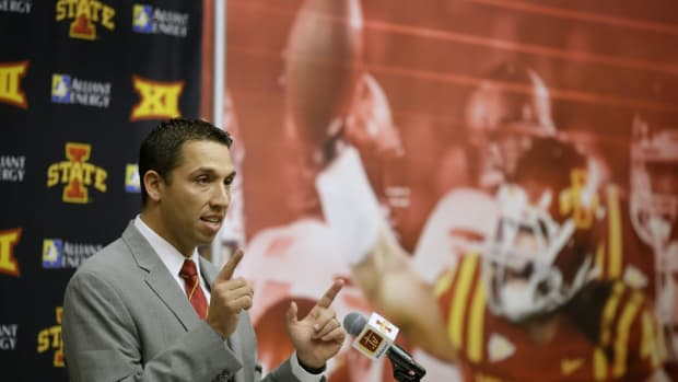 An enthused Matt Campbell shines in introductory press conference as new Iowa State head coach