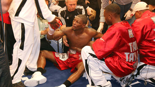 Boxer Jermain Taylor stripped of middleweight title