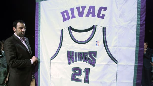 Kings name Vlade Divac VP of basketball operations IMAGE