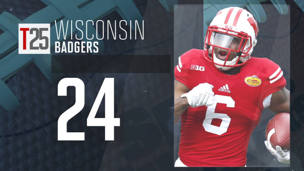 2015 college football preseason Top 25: Wisconsin Badgers, No. 24 IMG