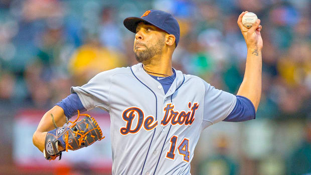 Detroit Tigers trade pitcher David Price to Toronto Blue Jays--IMAGE