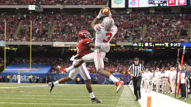ohio state michael thomas td catch