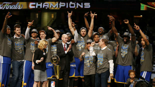 Golden State Warriors win NBA championship IMAGE