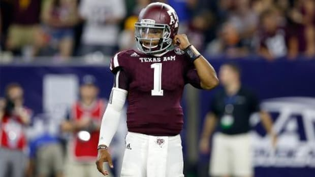 Former Texas A&M QB Kyler Murray transfers to Oklahoma IMAGE