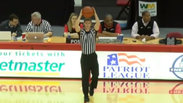 Deflategate II delays Boston University men's basketball game - image