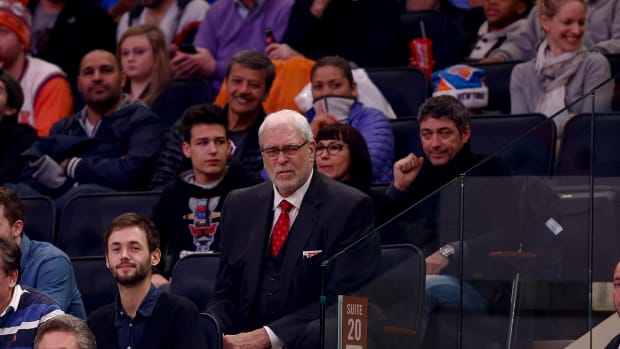 Phil Jackson on Knicks: 'My experiment has fallen flat' IMAGE