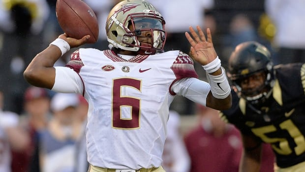 Exit laughing: Florida State transfer QB Everett Golson is enjoying himself—and getting better