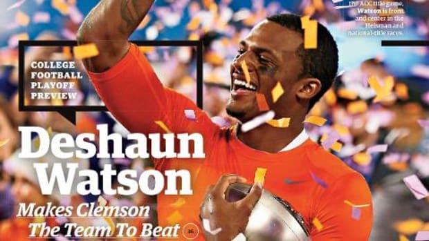 Clemson QB Deshaun Watson lands SI cover - IMAGE