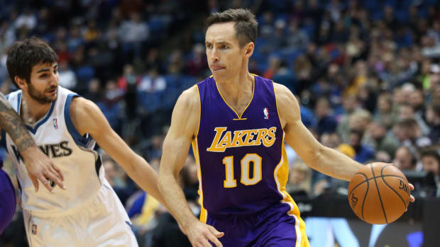 steve nash lakers workout video